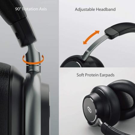 Casti audio TaoTronics TT-BH046, Hybrid Noise canceling, Bluetooth 5.0, True Wireless6