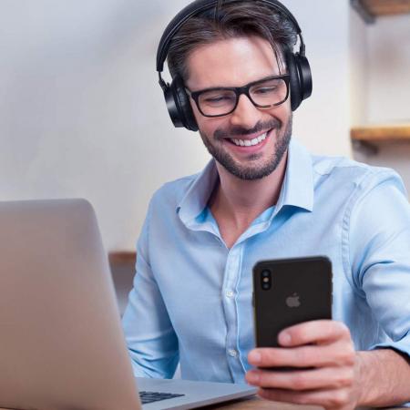 Casti audio TaoTronics TT-BH046, Hybrid Noise canceling, Bluetooth 5.0, True Wireless2
