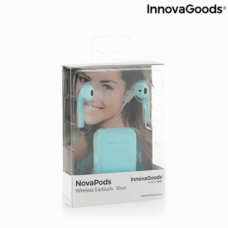 Casti wireless Novapods cu incarcare magnetica3