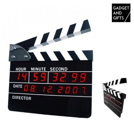 Ceas digital clacheta regizor4