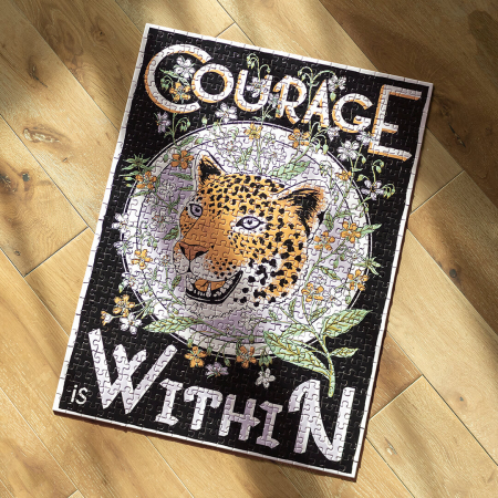 Courage is Within, Puzzle Editie Artistica, 500 piese2