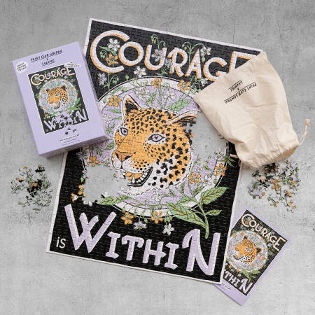Courage is Within, Puzzle Editie Artistica, 500 piese1