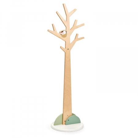 Cuier haine dormitor copii, lemn premium, Copacul din Padure2