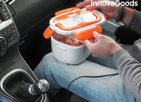 Cutie electrica Pranz cald in masina0