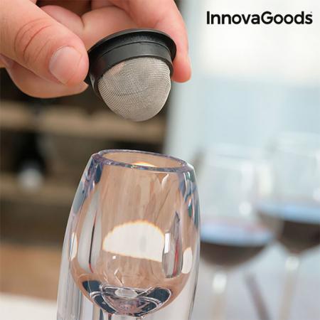 Decantor vin pentru gusturi rafinate2