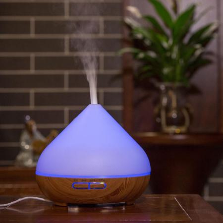 Difuzor aromaterapie uleiuri esentiale cu Ultrasunete TaoTronics, LED 7 culori0