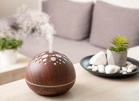 Difuzor aromaterapie uleiuri esentiale Moon0