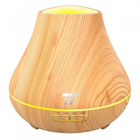 Difuzor Aromaterapie TaoTronics TT-AD004, 400ml, LED, 7 culori6