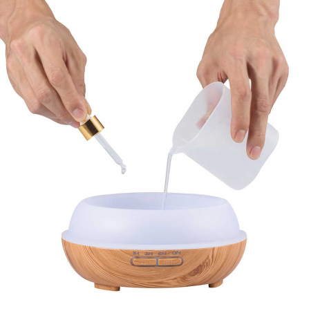 Difuzor Aromaterapie uleiuri esentiale 7 culori, 400 ml [5]