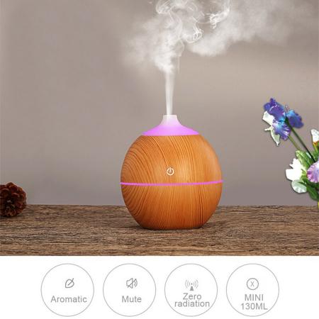 Difuzor Aromaterapie uleiuri esentiale lacrima 7 culori, 130 ml [1]
