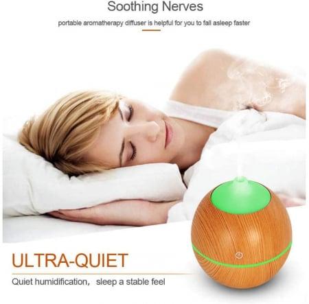 Difuzor Aromaterapie uleiuri esentiale lacrima 7 culori, 130 ml1