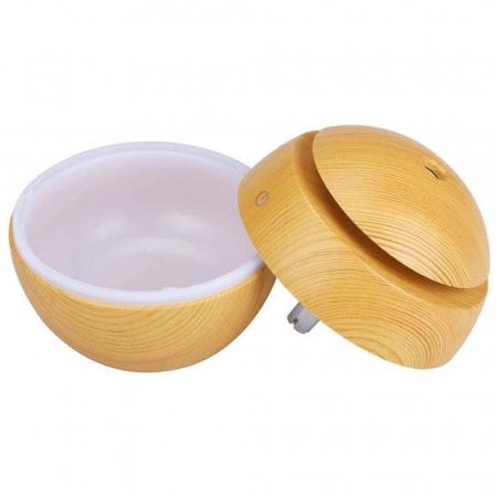 Difuzor Aromaterapie uleiuri esentiale sfera 7 culori, 130 ml [8]