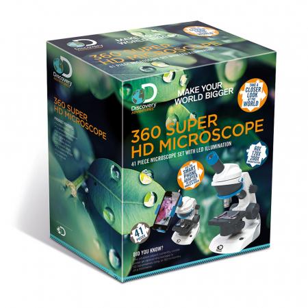Discovery 360 Microscop Super HD, cu iluminare LED3