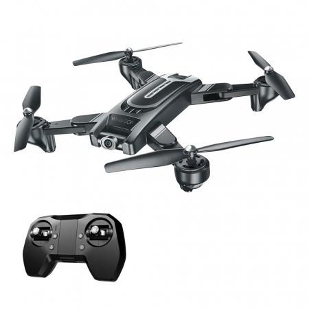 Drona Smart Visuo cu gps, Follow-Me, camera 4K cu transmisie live pe smartphone4