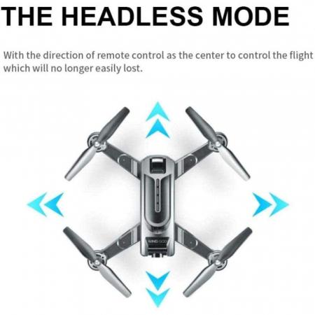 Drona Smart Visuo cu gps, Follow-Me, camera 4K cu transmisie live pe smartphone7