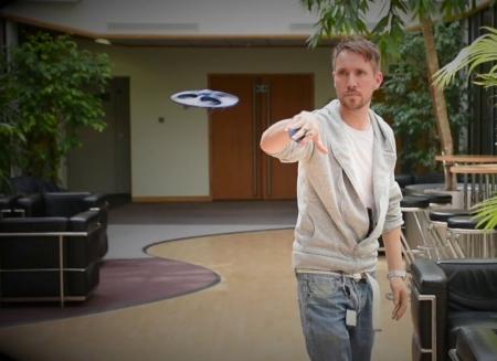 Drona UFO cu senzor de miscare1