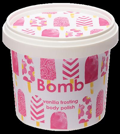 Exfoliant corp particule fine Vanilla Frosting Bomb Cosmetics2