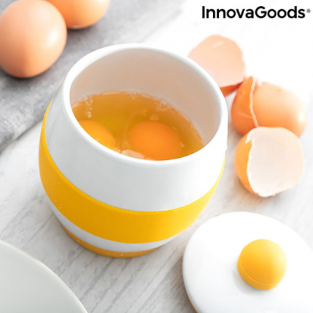 Fierbator oua la microunde, din ceramica, retete incluse2