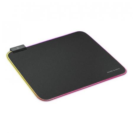 Gaming pad cu iluminare RGB LED, alimentare USB0