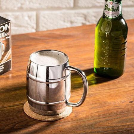 Halba de bere cu racire Iron Chiller, 400 ml0