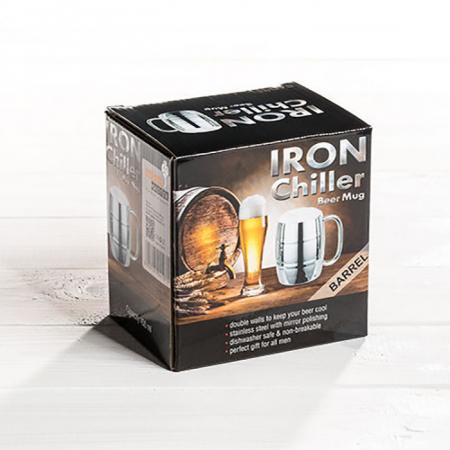 Halba de bere cu racire Iron Chiller, 400 ml8
