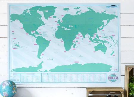 Harta razuibila Editia Hello - Originala Luckies2