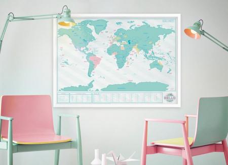 Harta razuibila Editia Hello - Originala Luckies1