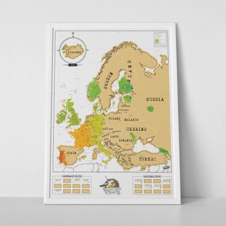 Harta razuibila Europa Mea0