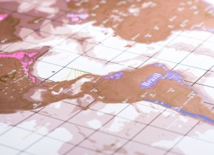 Harta razuibila Rose Gold - Originala Luckies [7]