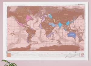 Harta razuibila Rose Gold - Originala Luckies [5]