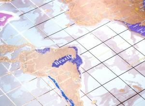 Harta razuibila Rose Gold - Originala Luckies [8]