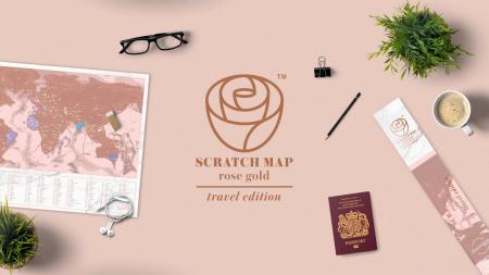 Harta razuibila Rose Gold - Originala Luckies [6]