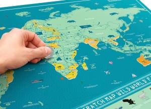 Harta Razuibila Wild - Originala Luckies0