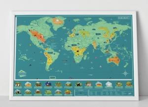 Harta Razuibila Wild - Originala Luckies2