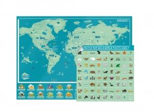 Harta Razuibila Wild - Originala Luckies6