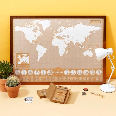 Harta Stamp Map - Originala Luckies [0]