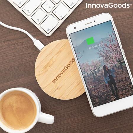 Incarcator wireless din bambus [1]