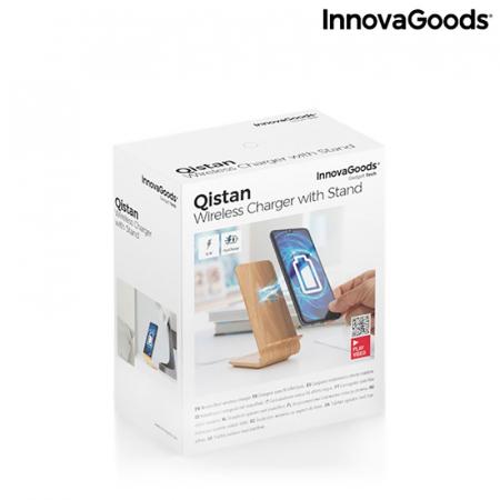 Incarcator wireless smartphone, cu stand vertical9