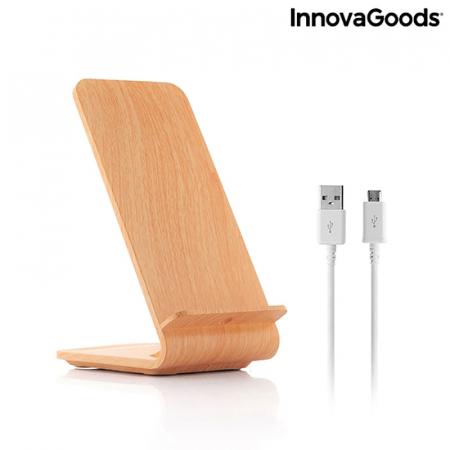 Incarcator wireless smartphone, cu stand vertical6