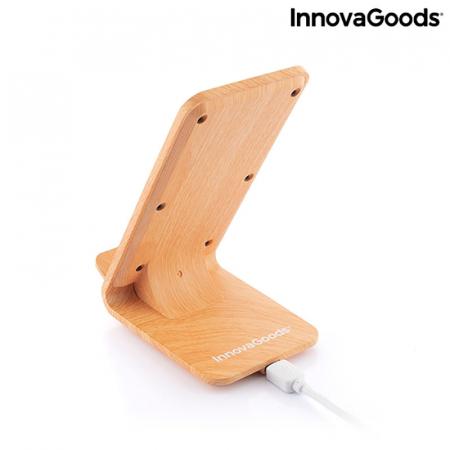 Incarcator wireless smartphone, cu stand vertical8