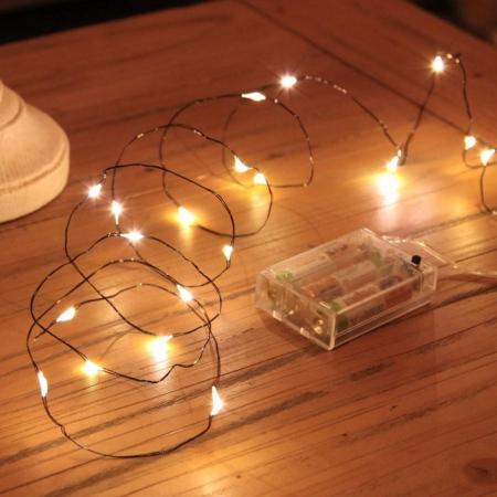 Instalatie de lumini cu 10 leduri2