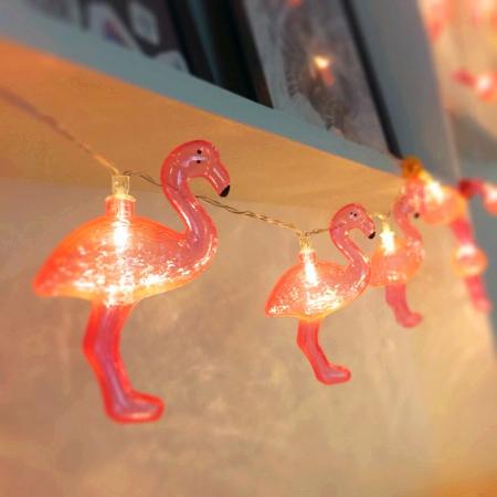 Instalatie de lumini Flamingo Roz0