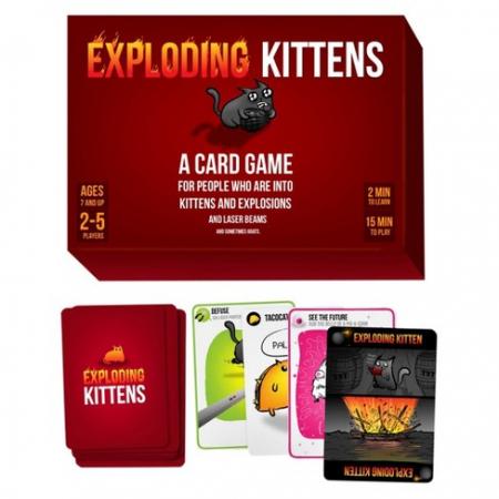 Joc de Carti Exploding Kittens1