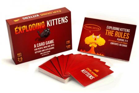 Joc de Carti Exploding Kittens0