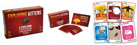 Joc de Carti Exploding Kittens2