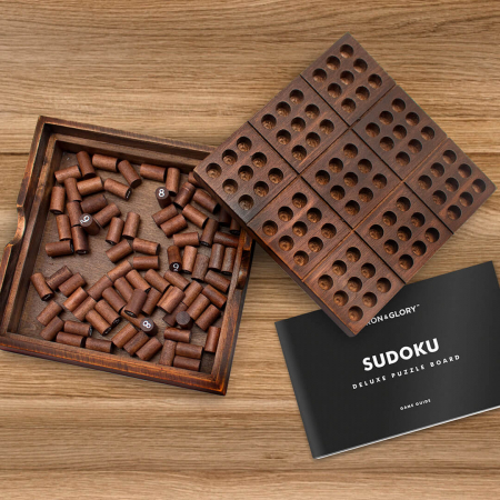 Joc din lemn Sudoku Deluxe [1]