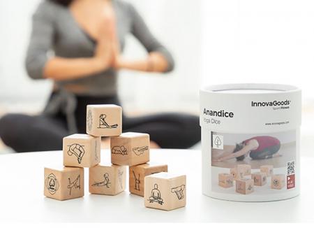 Yoga Game cu zaruri din lemn0