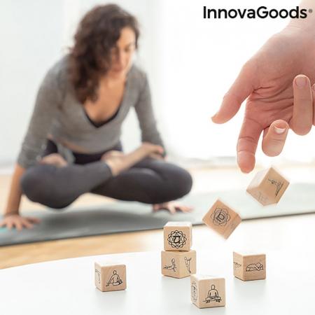 Yoga Game cu zaruri din lemn1