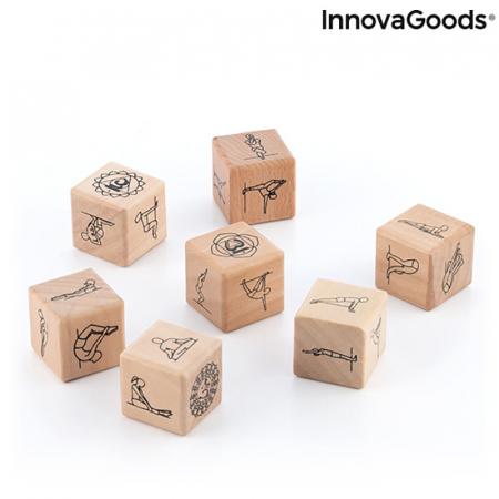 Yoga Game cu zaruri din lemn2