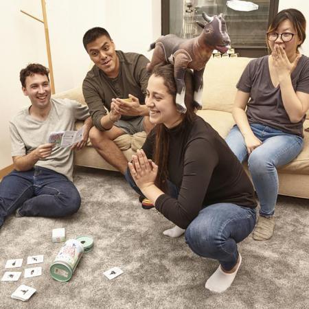 Jocul petrecerii YOGA Goat1